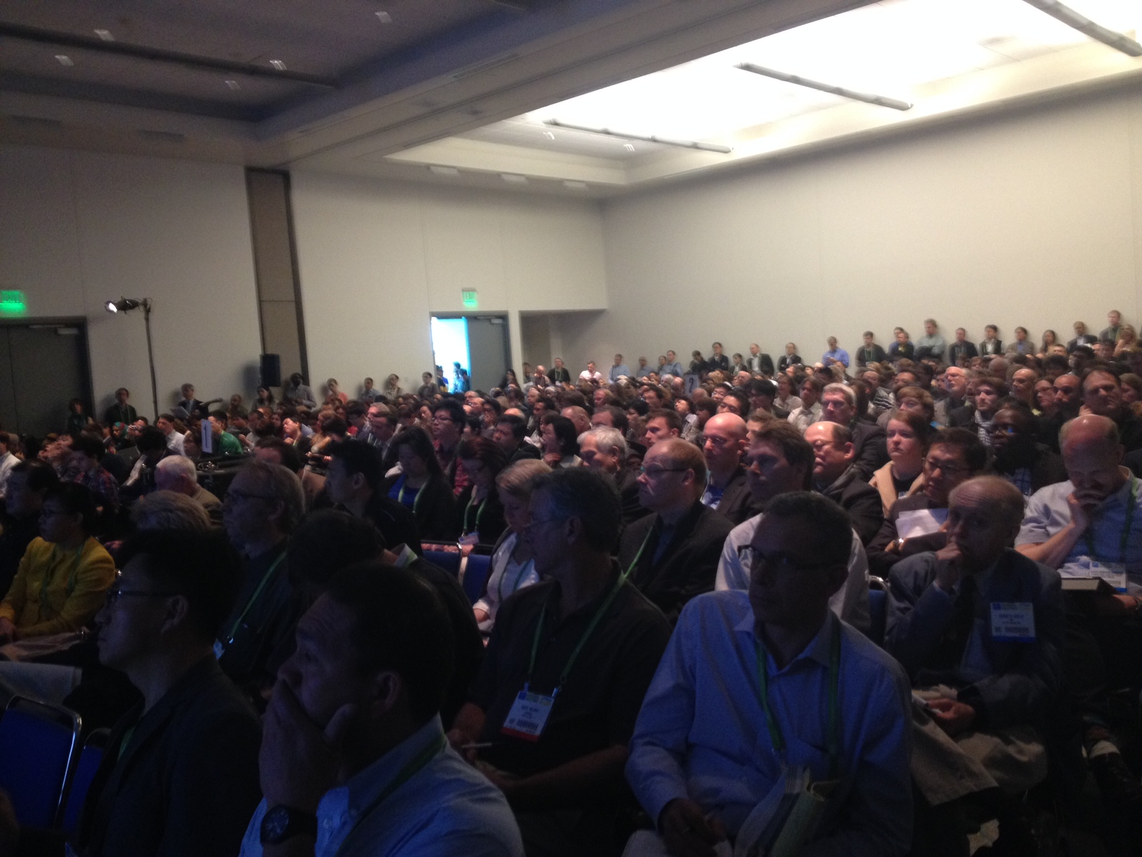 """Standing-room only crowd at the 2014 AACR Symposium """"Single Cell Analysis of the Tumor"""""""