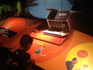 The Ion Proton at the Smithsonian 'Code of Life', F1 generation in the foreground.