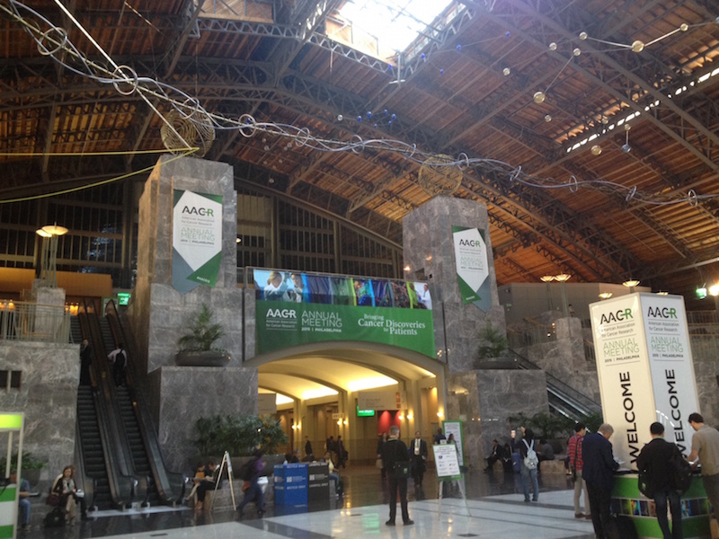 The AACR Meeting Philadelphia PA