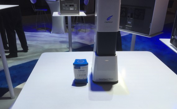 Cepheid's GeneXpert Omni, unveiled at the 2015 AACC Conference