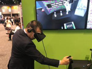 NanoString's Digital Spatial Profiling VR demonstration at #AACR18
