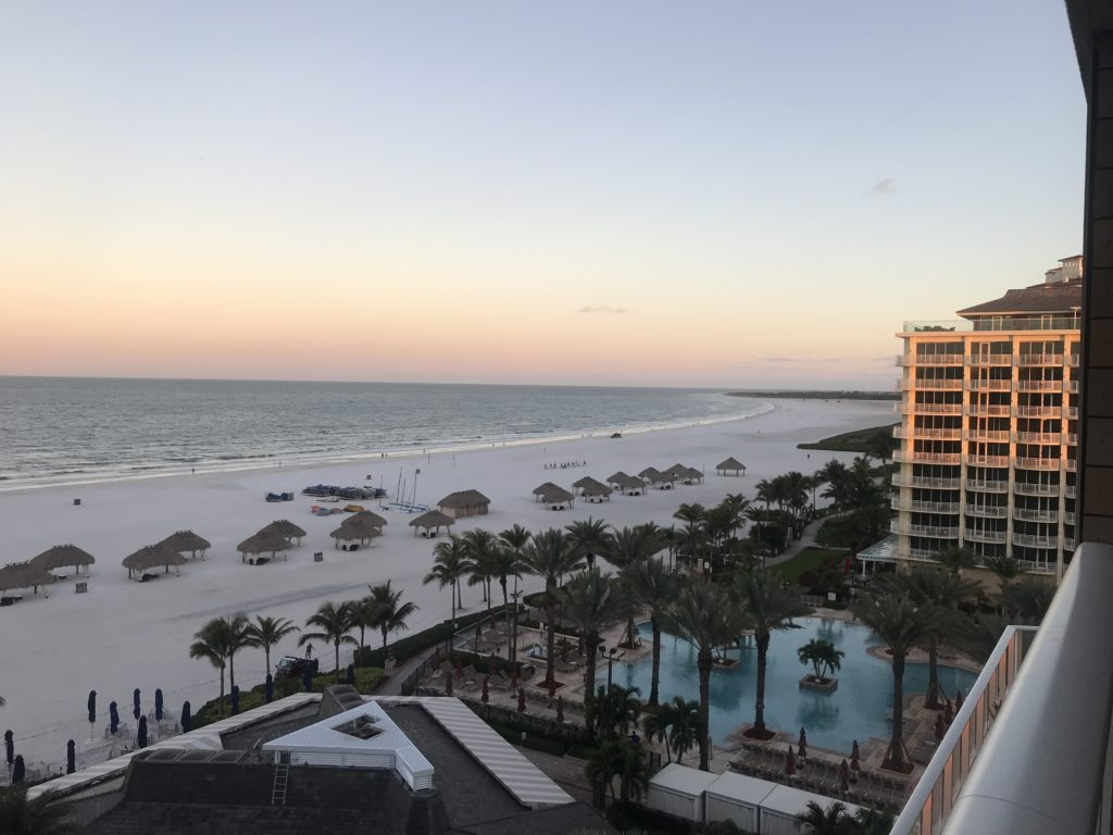 View of Marco Island beach at #AGBT19 Feb 28 2019